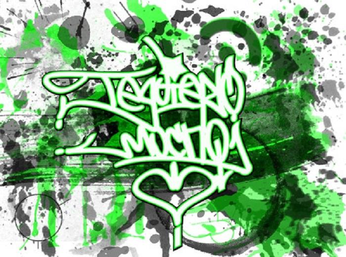 Te Quiero En Graffitis | apexwallpapers.com