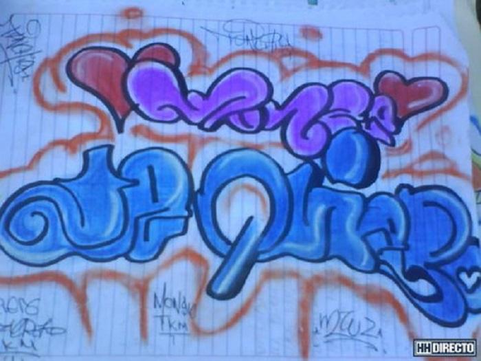 Graffitis de Te Quiero