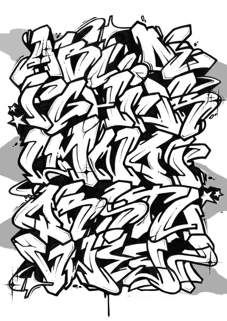 Abecedario Letras De Graffitis Graffiti Ideas