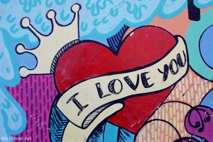 I love you картинки граффити