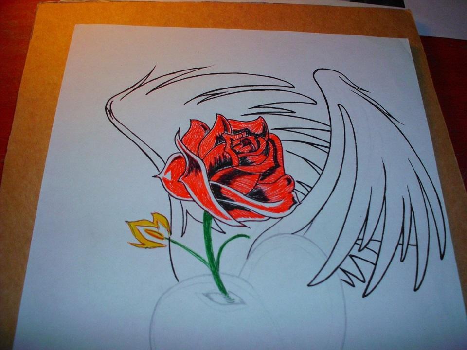 Graffitis de Rosas | Arte con Graffiti