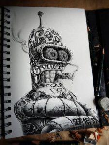 Dibujos de Graffitis Chidos