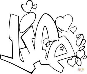 graffitis de amor para dibujar2
