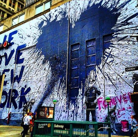 Graffitis-de-Corazones-Azules