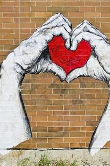 Graffitis-de-Corazones-Hermosos