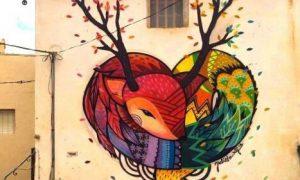 Graffitis de Corazones