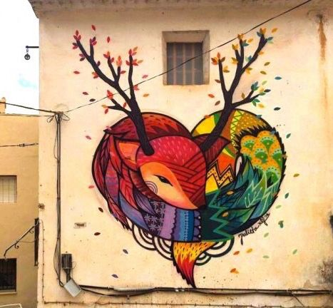 Graffitis-de-Corazones-Tiernos