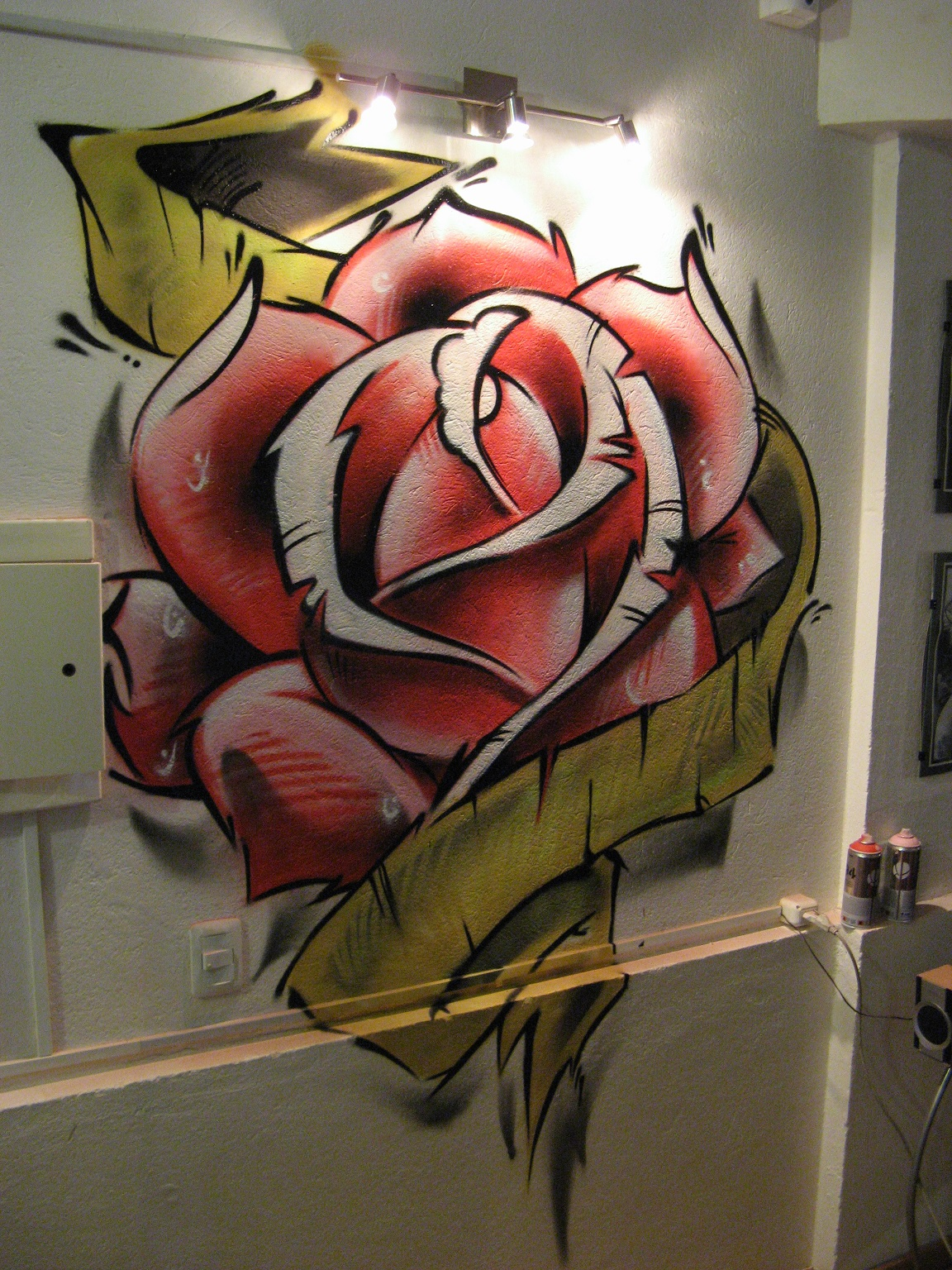 Graffitis-de-Rosas-Dibujos