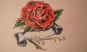 Graffitis de Rosas