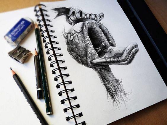 dibujos de graffitis chidos - pato donald