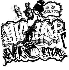 Graffitis de Hip Hop- muneco con gorro