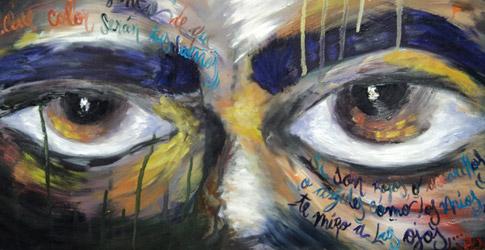 Graffitis de Ojos- colores