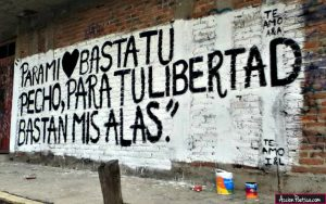 graffitis de amor frases - mi libertad