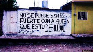 graffitis de amor frases - no se puede