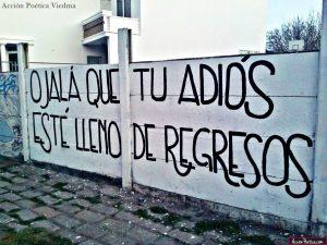 graffitis de amor frases - ojala