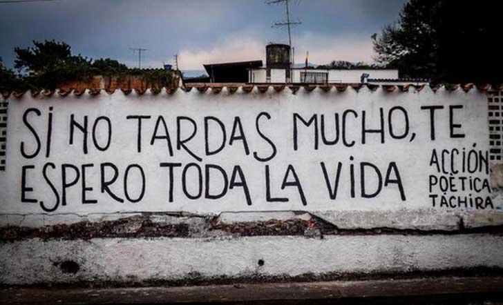 Graffitis De Amor Frases De Acción Poética Arte Con Graffiti
