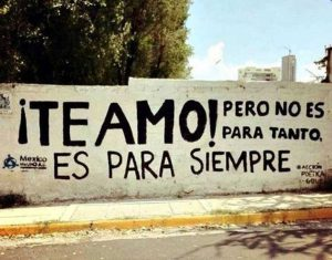 graffitis de amor frases - te amo