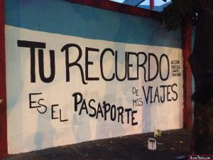 graffitis de amor frases - tu recuerdo