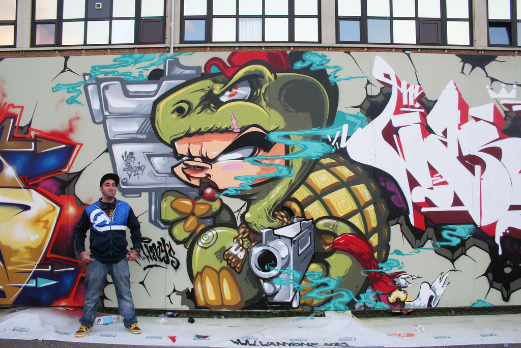 graffitis de hip hop - bonito
