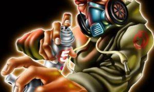 Graffitis de Hip Hop