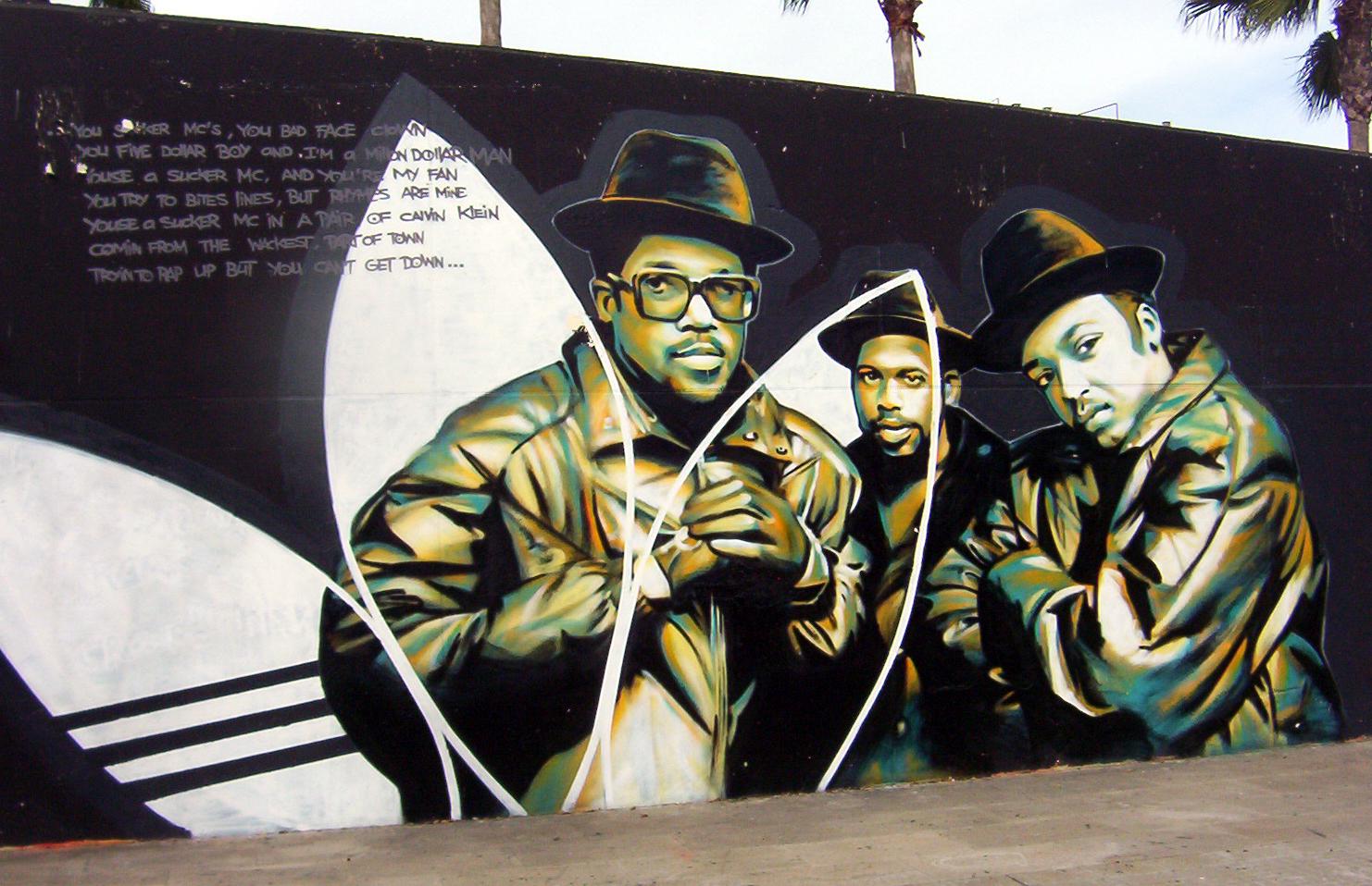 graffitis de hip hop - raperos
