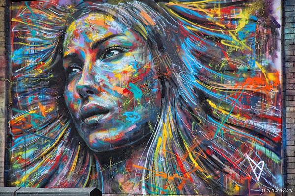 graffitis de mujeres - mujer en colores