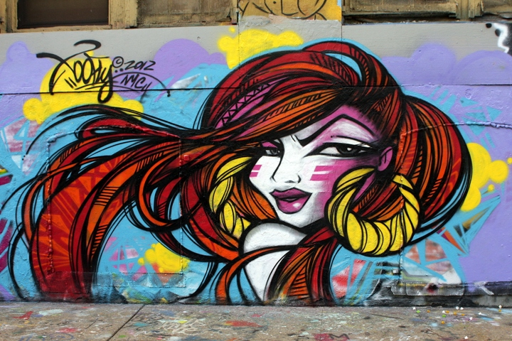 Graffitis de Mujeres  Arte con Graffiti