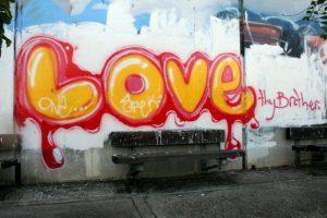 graffitis de love - callejero