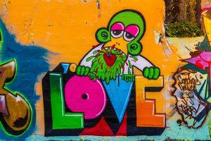 graffitis de love - excelente pintura