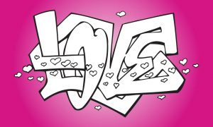 Graffitis de Love