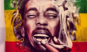 Graffitis de Bob Marley