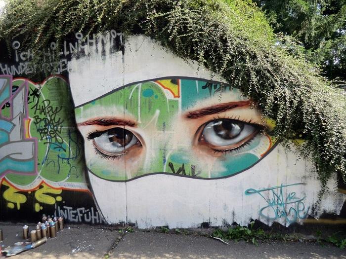 graffitis de ojos13
