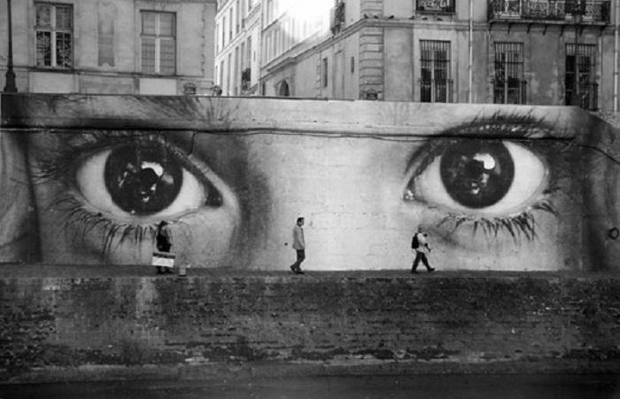 graffitis de ojos8