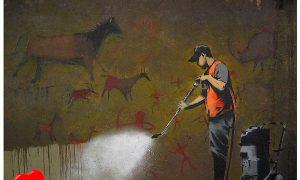 Los diez graffitis de Banksy más impresionantes