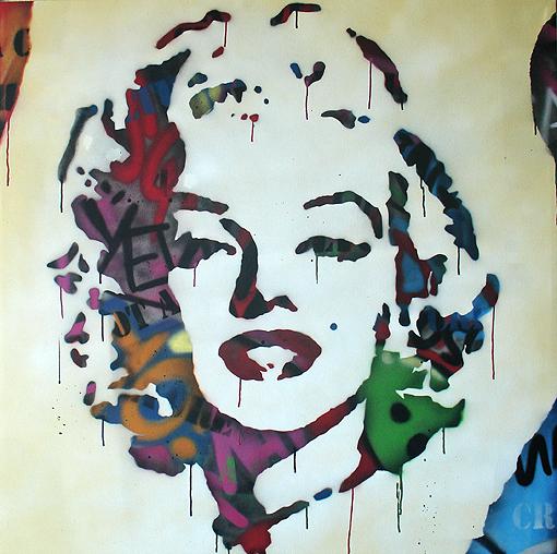 Graffitis de famosos arte con graffiti - Graffitis en paredes ...