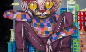 Graffitis de Gatos