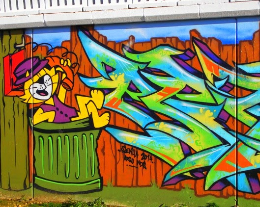 Graffitis De Gatos Arte Con Graffiti