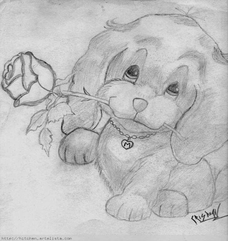 Dibujos de amor a lápiz
