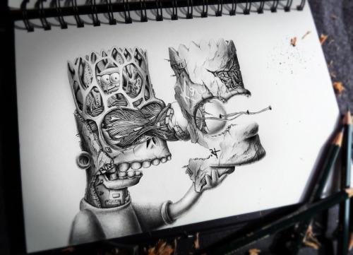 Dibujos A Lapiz Faciles Graffitis
